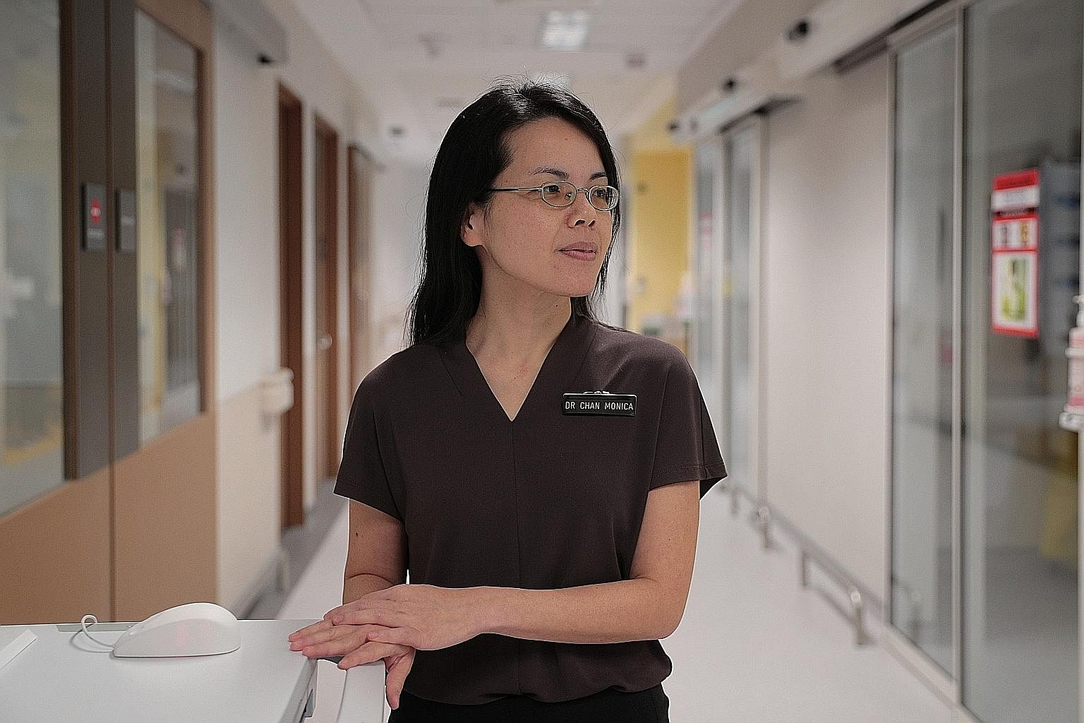 "Dr Monica Chan says it was ""anxiety-provoking"" when the National Centre for Infectious Diseases confirmed its first coronavirus case."