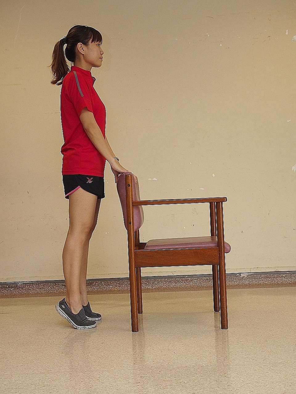 To strengthen the buttock and thigh muscles to help in getting up from a seated position.