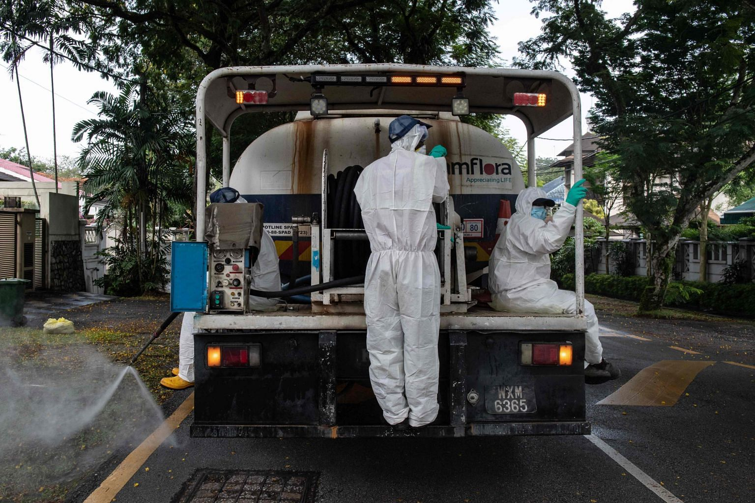 Malaysia Starts Nationwide Disinfection Efforts To Prevent Coronavirus Spread Se Asia News Top Stories The Straits Times