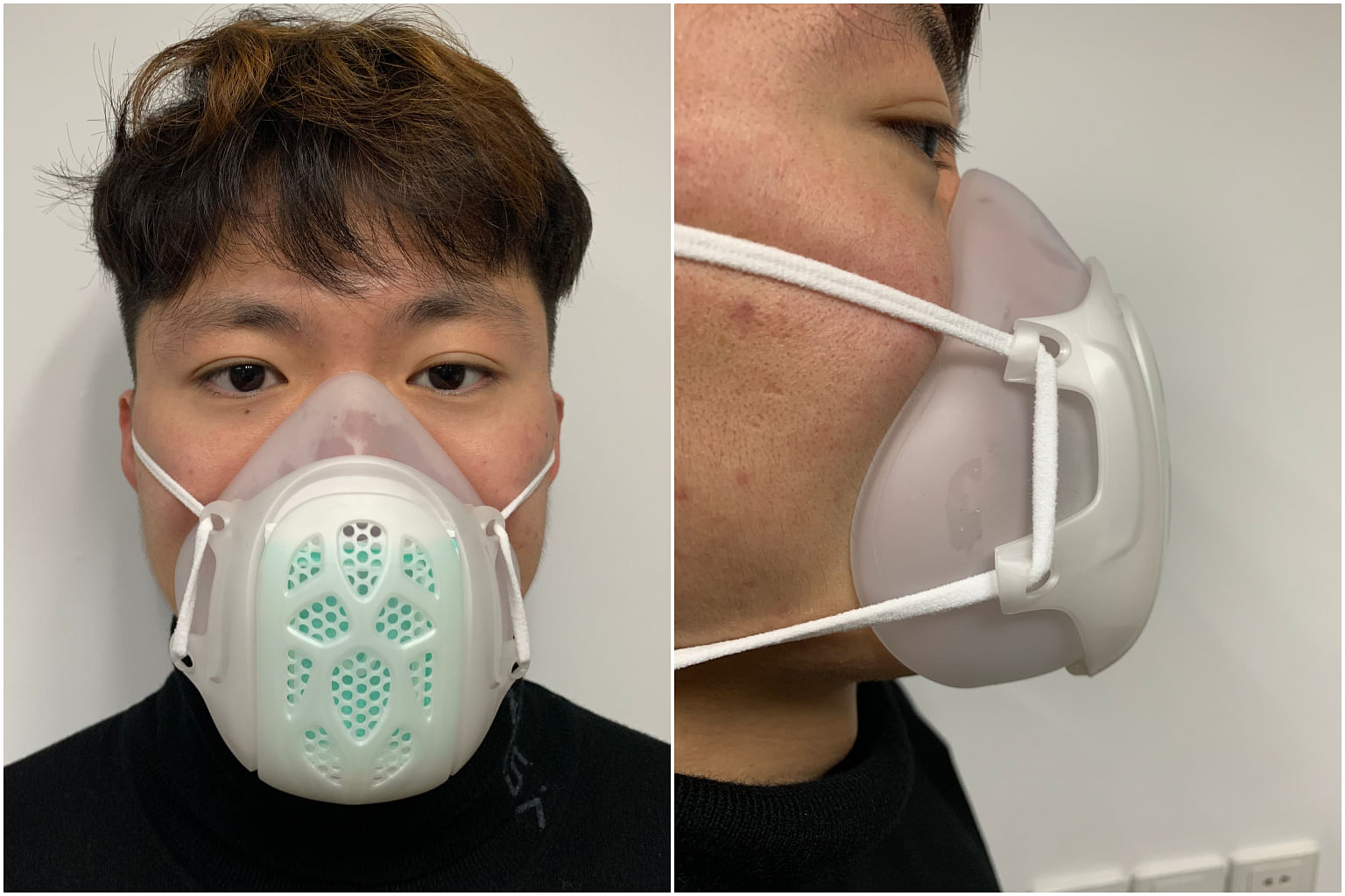 Coronavirus Local Company Invents New Mask To Tackle Global Shortage 1 000 Being Shipped Here For Sale Health News Top Stories The Straits Times