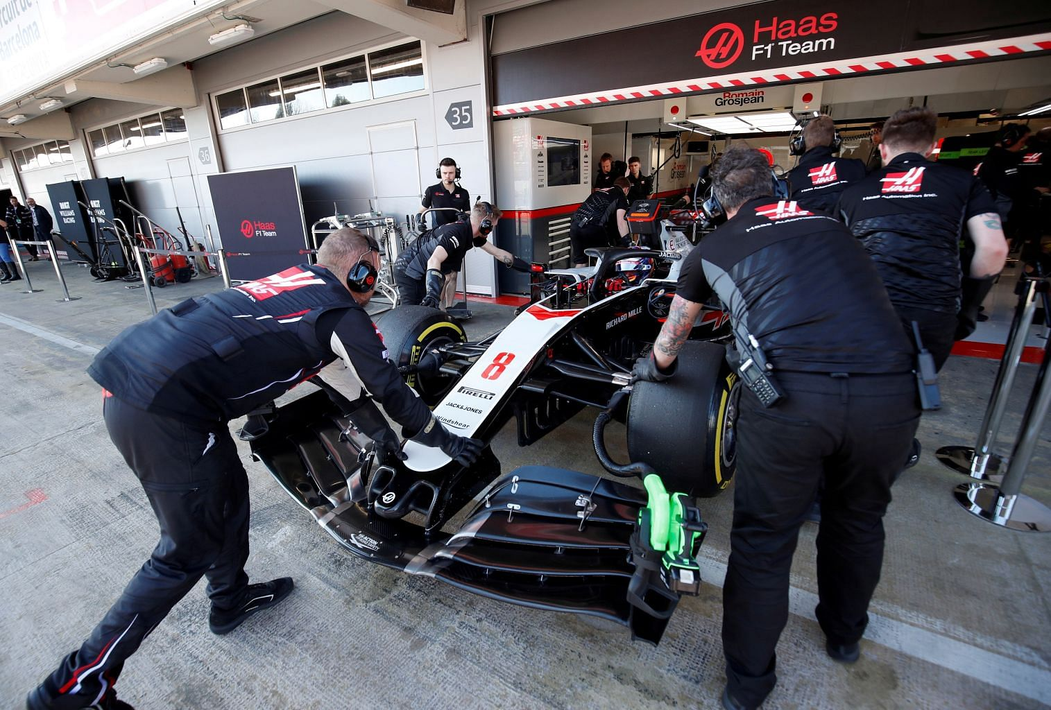 Motor Racing Haas Furloughs Staff Fifth F1 Team To Do So Formula One News Top Stories The Straits Times