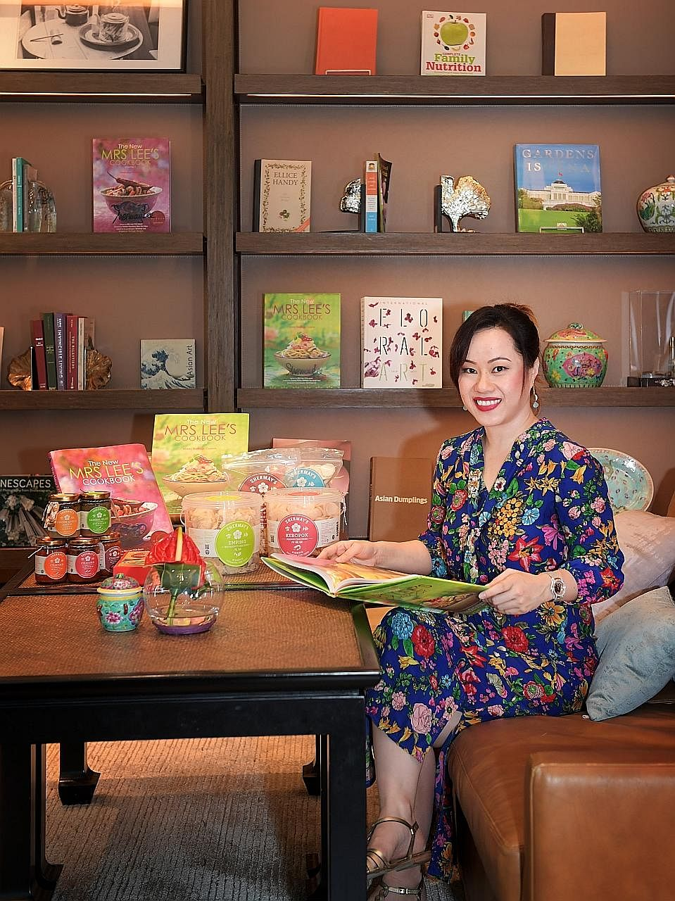 Ms Lee's grandmother, Mrs Lee Chin Koon (right), was a doyenne of Peranakan cooking and author of an iconic cookbook. Ms Shermay Lee, founder of Shermay's Singapore Fine Food, has parlayed her Peranakan cooking skills and heritage recipes like those