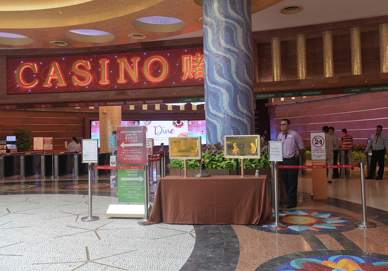 Employment in singapore casino turtle mountain band of chippewa casino