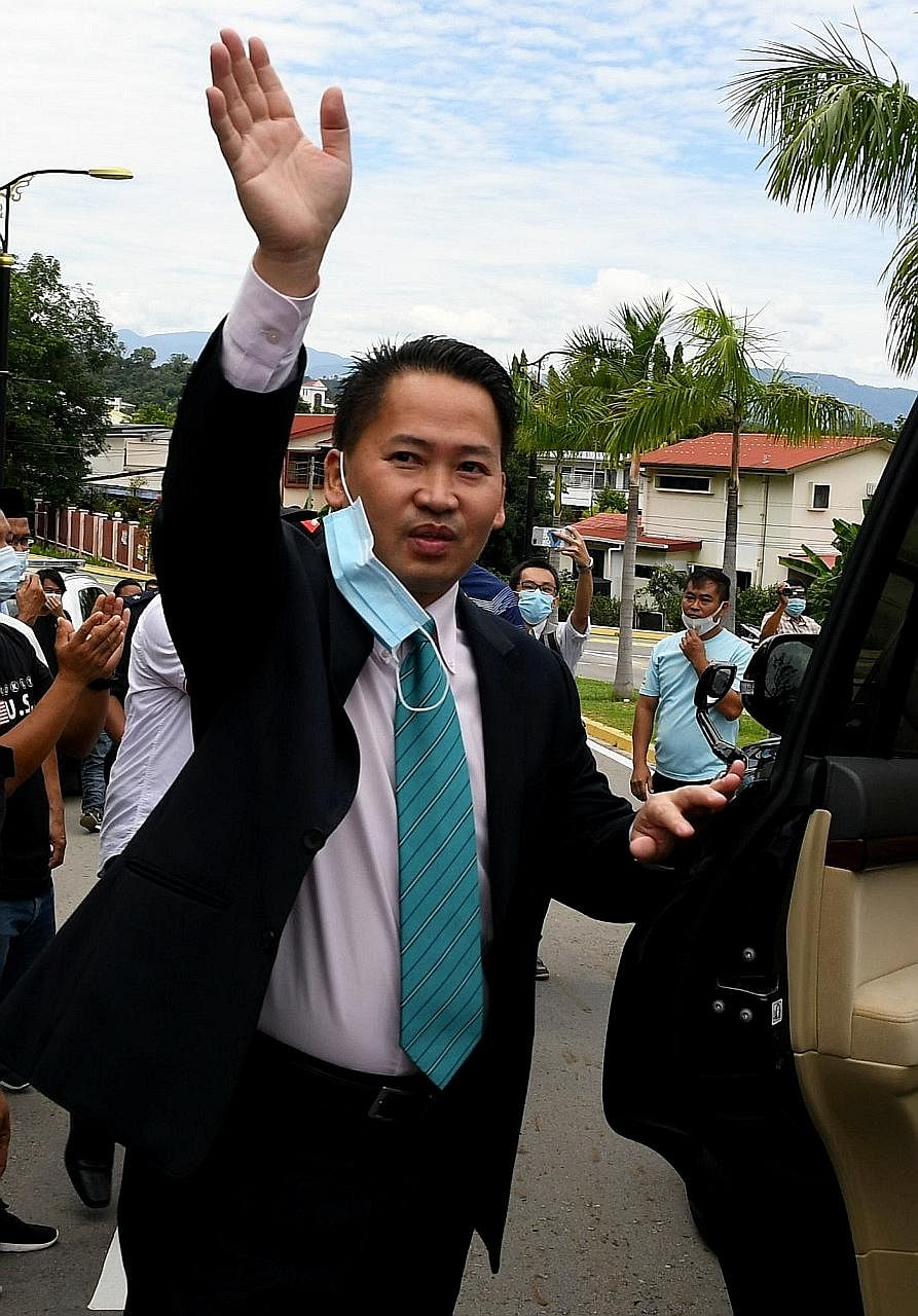 Sabah's Infrastructure Development Minister Peter Anthony was arrested in 2017 in connection with investigations into the misappropriation of billions of ringgit in funds meant for rural development projects.