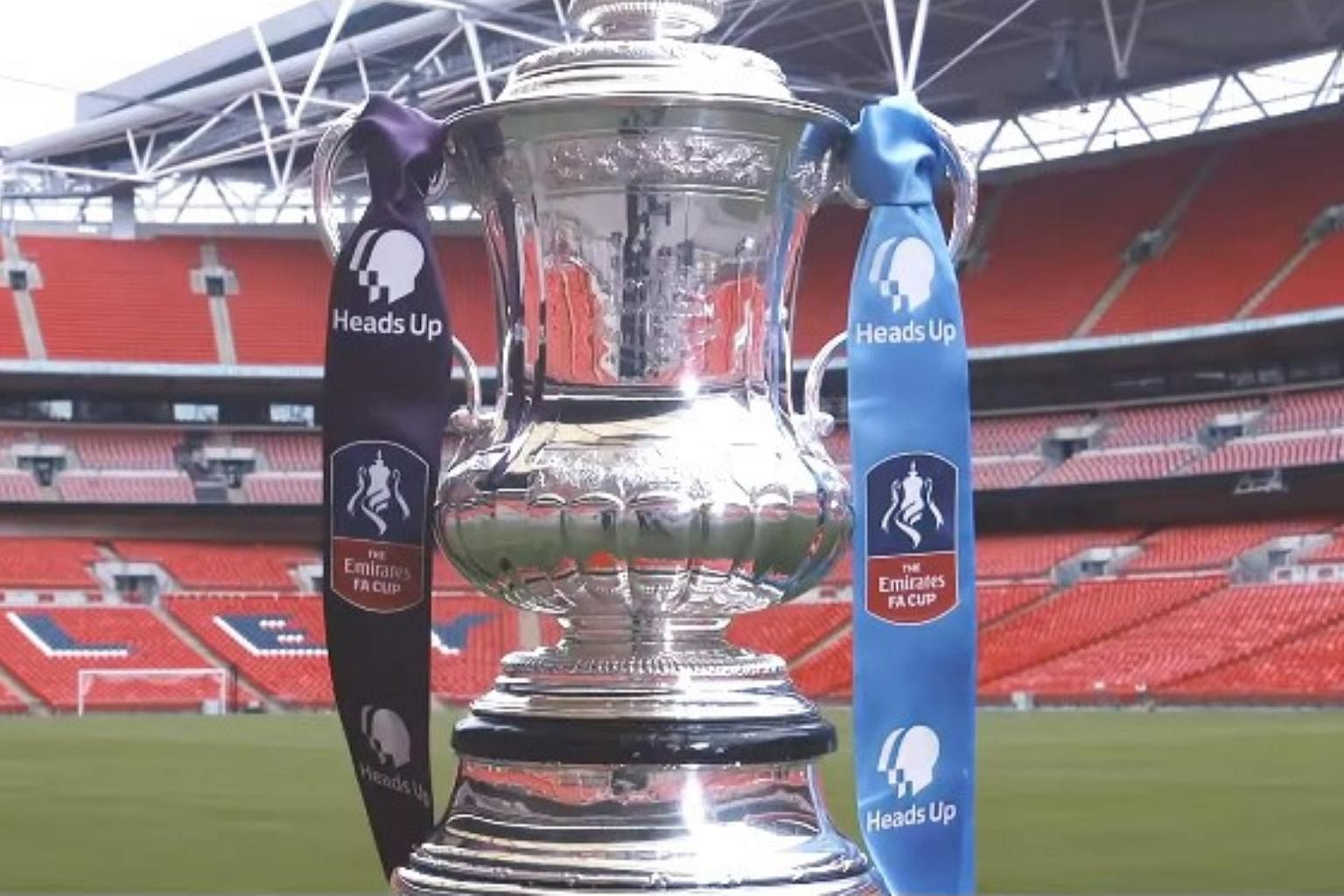 Football English Fa Cup Final To Be Renamed In Honour Of Heads Up Campaign Football News Top Stories The Straits Times