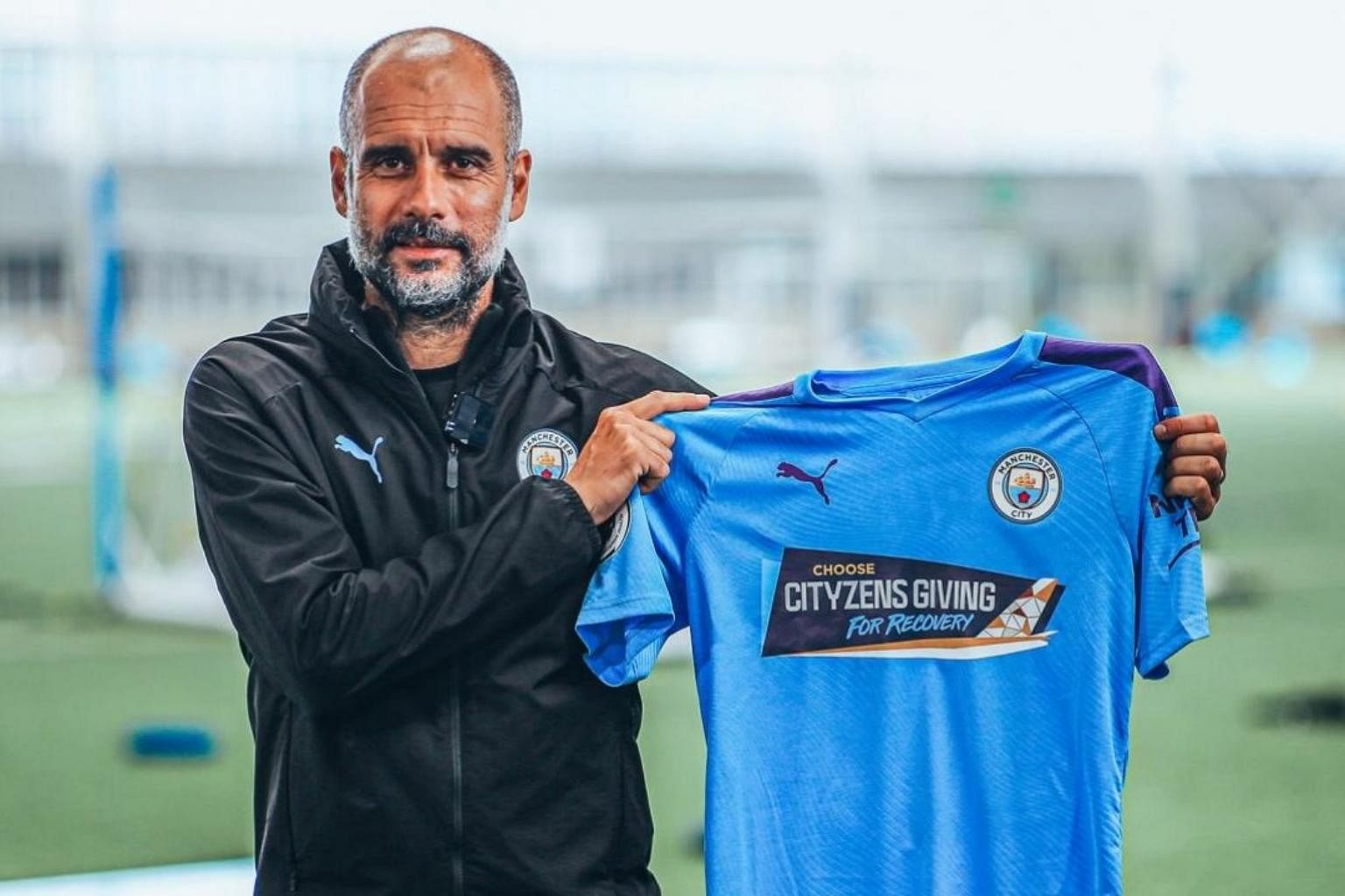 Football Manchester City To Wear New Jersey For Arsenal Game To Promote Covid 19 Relief Fund Football News Top Stories The Straits Times