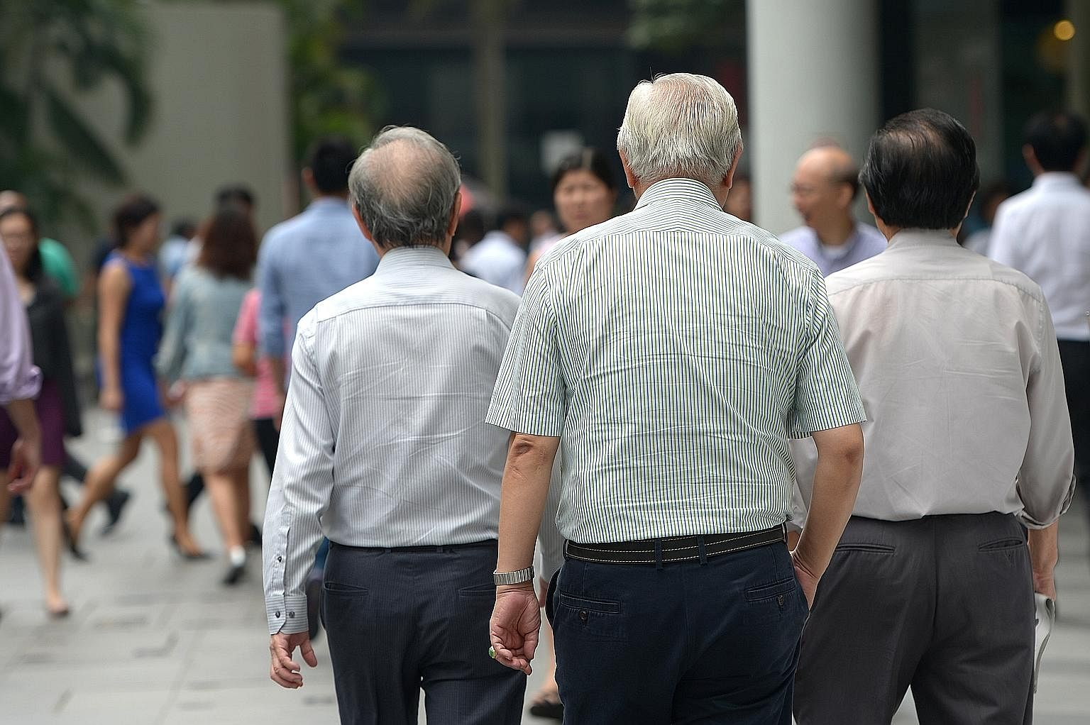 The working-age citizen population aged 20 to 64 is expected to peak around this year, and then start to decline. It is projected that one in four Singaporeans will be 65 and older by 2030. If no action is taken, the average age of people employed he
