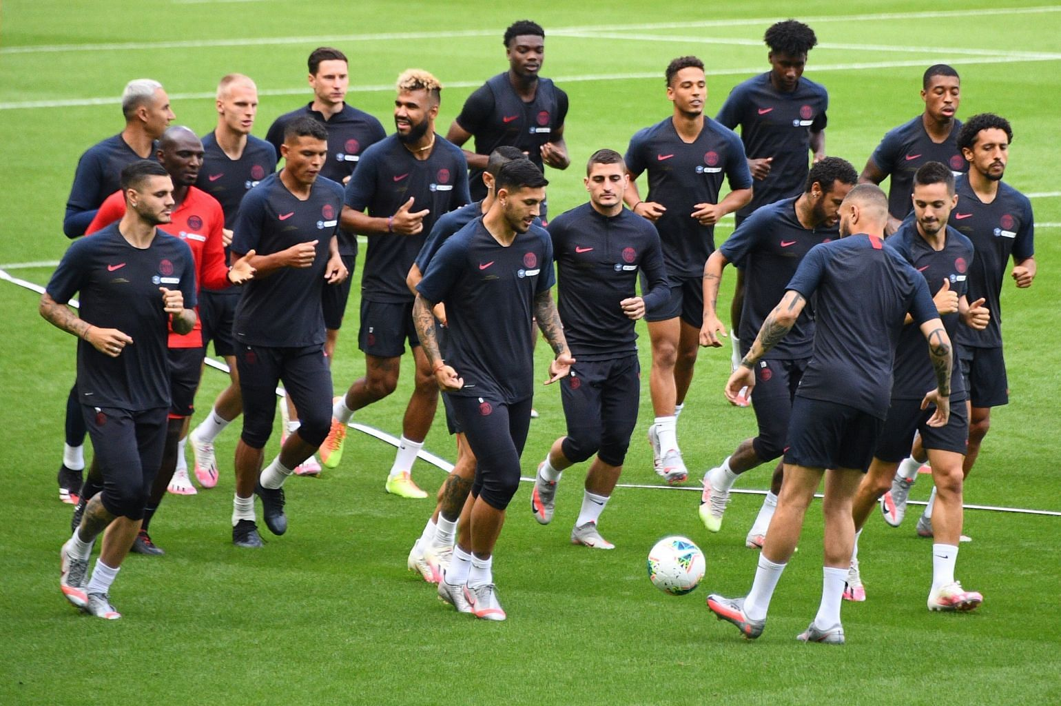 Football Psg Embark On Trophy Blitz As French Football Resumes