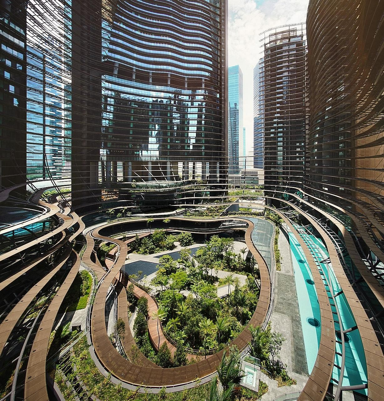 The green loan for Marina One is the largest obtained for a real estate firm in the Asia-Pacific, says developer M+S.