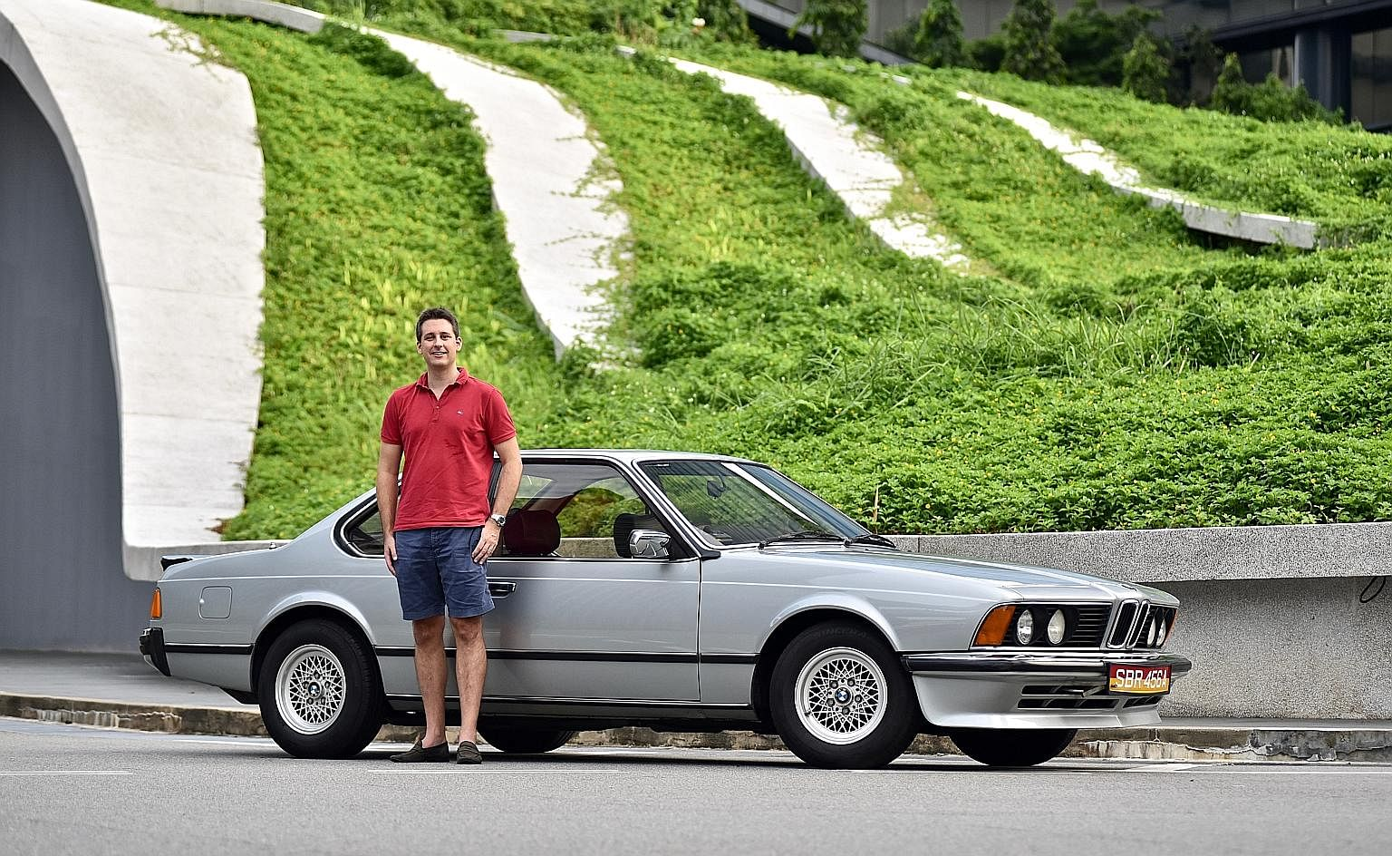 Blast From The Past With The Bmw 635csi Motoring News Top Stories The Straits Times