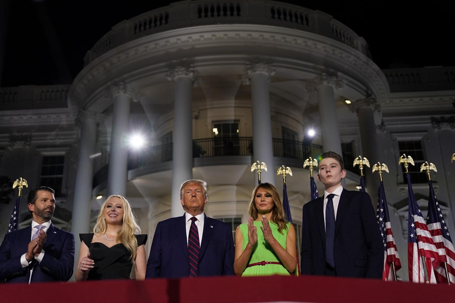 Trump Accepts Republican Nomination For President Attacks Biden While Promising To Rebuild Us Economy United States News Top Stories The Straits Times