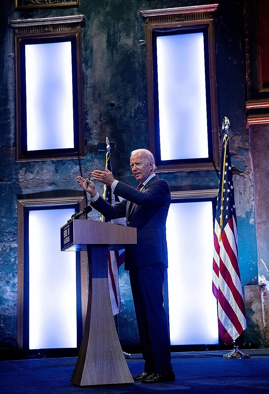 Democratic presidential candidate Joe Biden, who is consistently, if narrowly, leading in national polls, is pitching himself as the anti-Trump, who will bring decency, compassion and unity back to America.