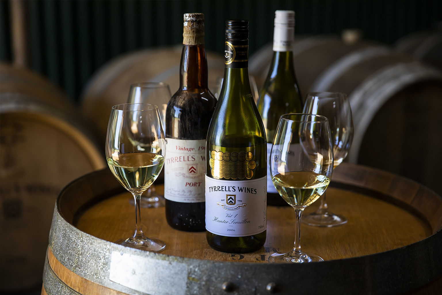 Hunter Valley, New South Wales, Australia, Wine, Tyrrell's Wines
