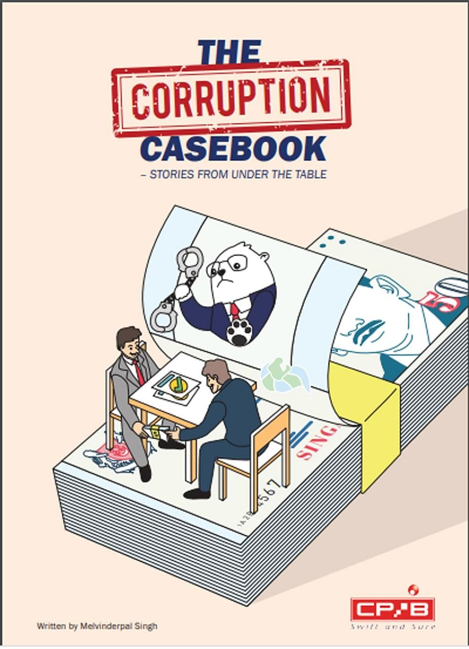The e-book, titled The Corruption Casebook - Stories From Under The Table, is available for download on the Corrupt Practices Investigation Bureau's website at cpib.gov.sg.