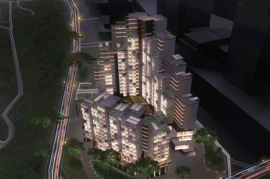 team ace, nus, international building design competition 2020, built environment, orchard hills project
