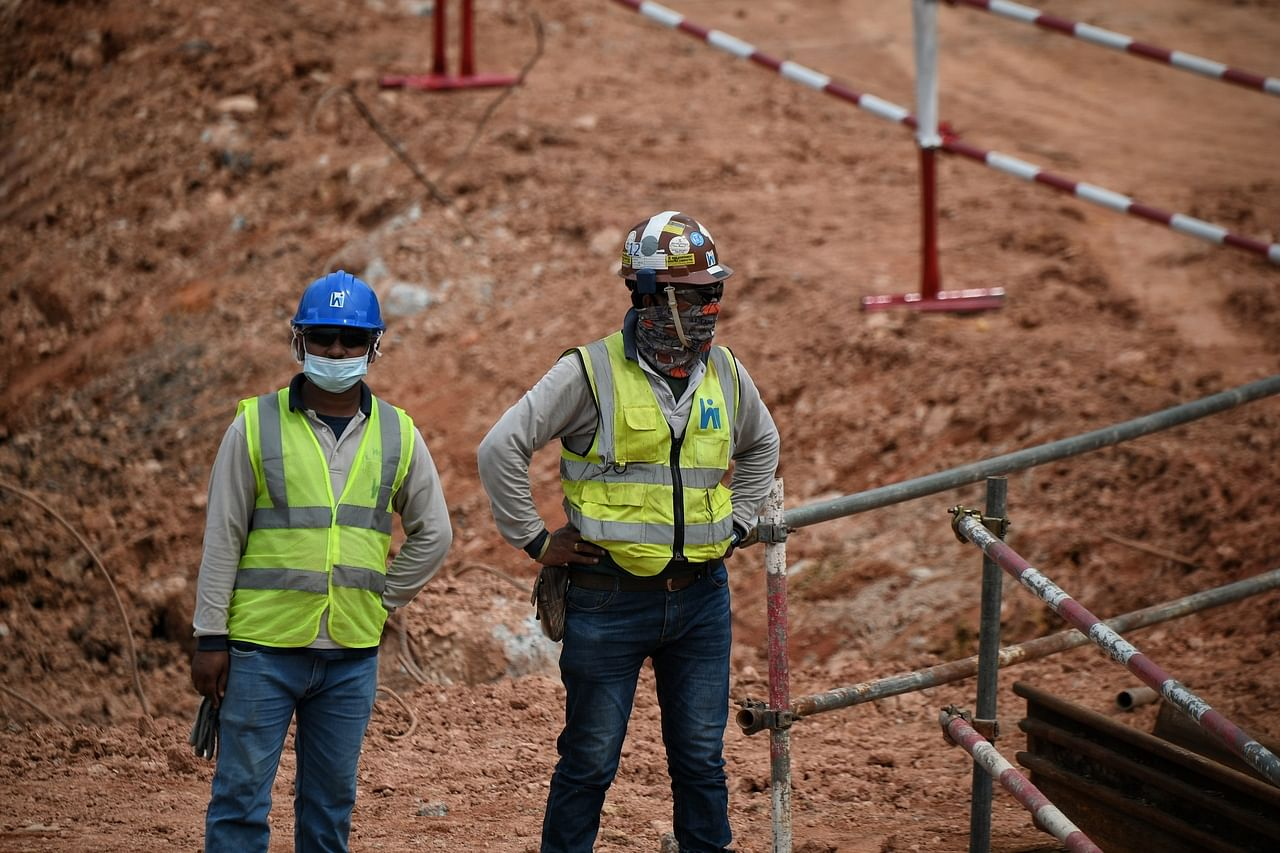 The new entry restrictions imposed on South Asian workers has effectively dried up the pool of workers in the construction industry. ST PHOTO: KUA CHEE SIONG