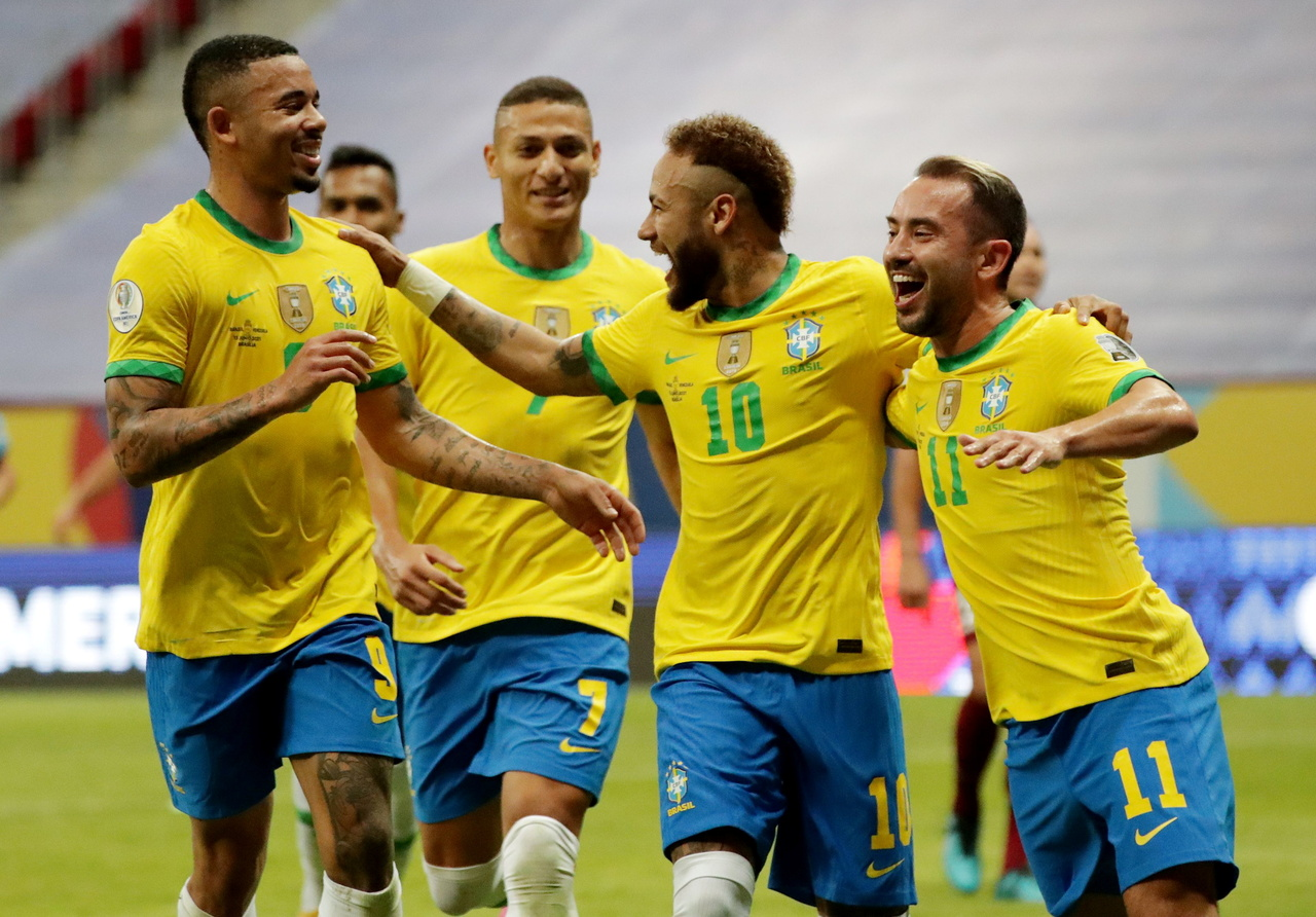 Football: Brazil open Copa America with 3-0 win over Venezuela, Football  News & Top Stories - The Straits Times