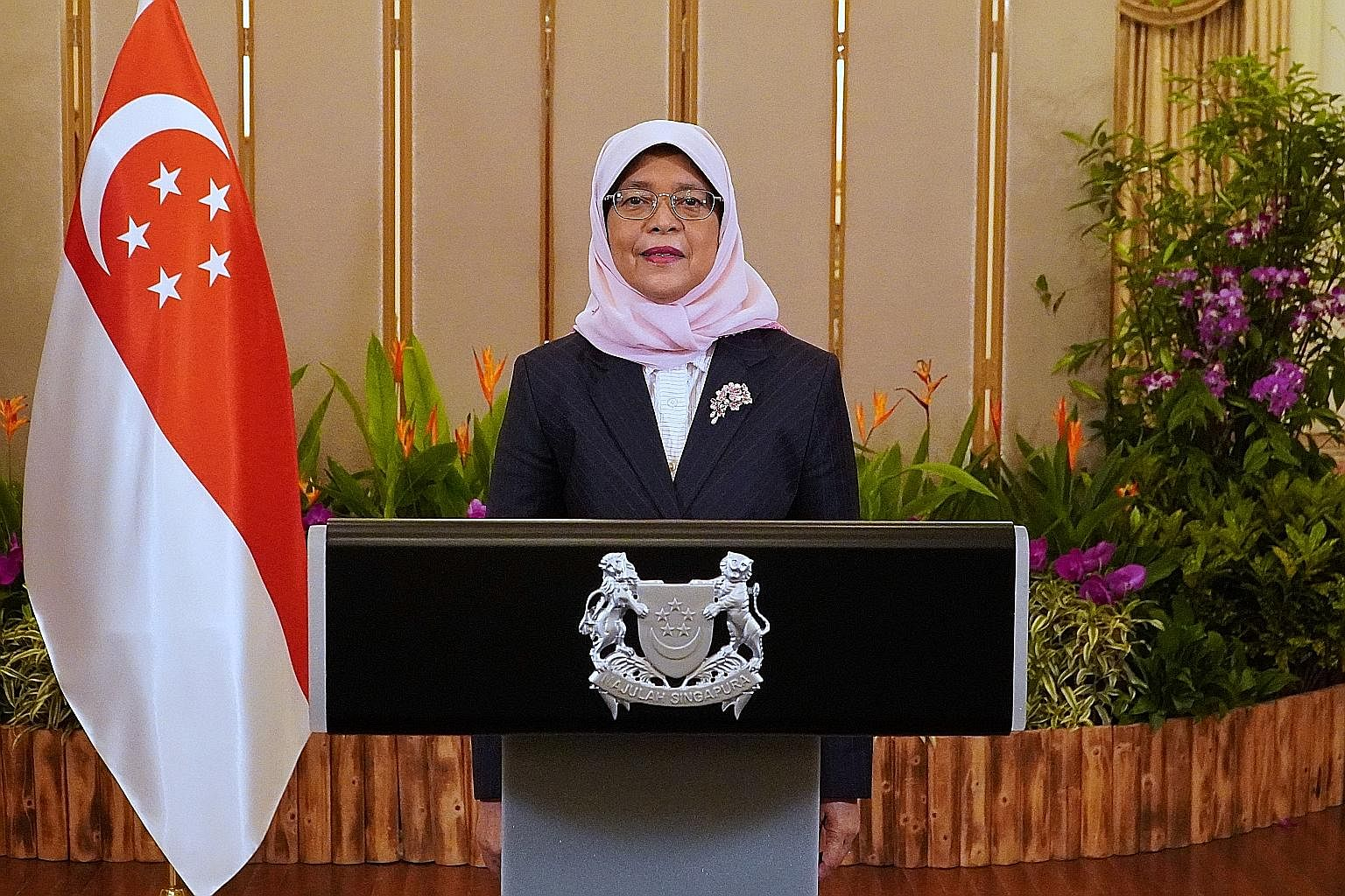 President Halimah Yacob, speaking during the first day of the virtual United Nations Global Compact Leaders Summit, said sustainability has always been an integral part of Singapore's development journey.