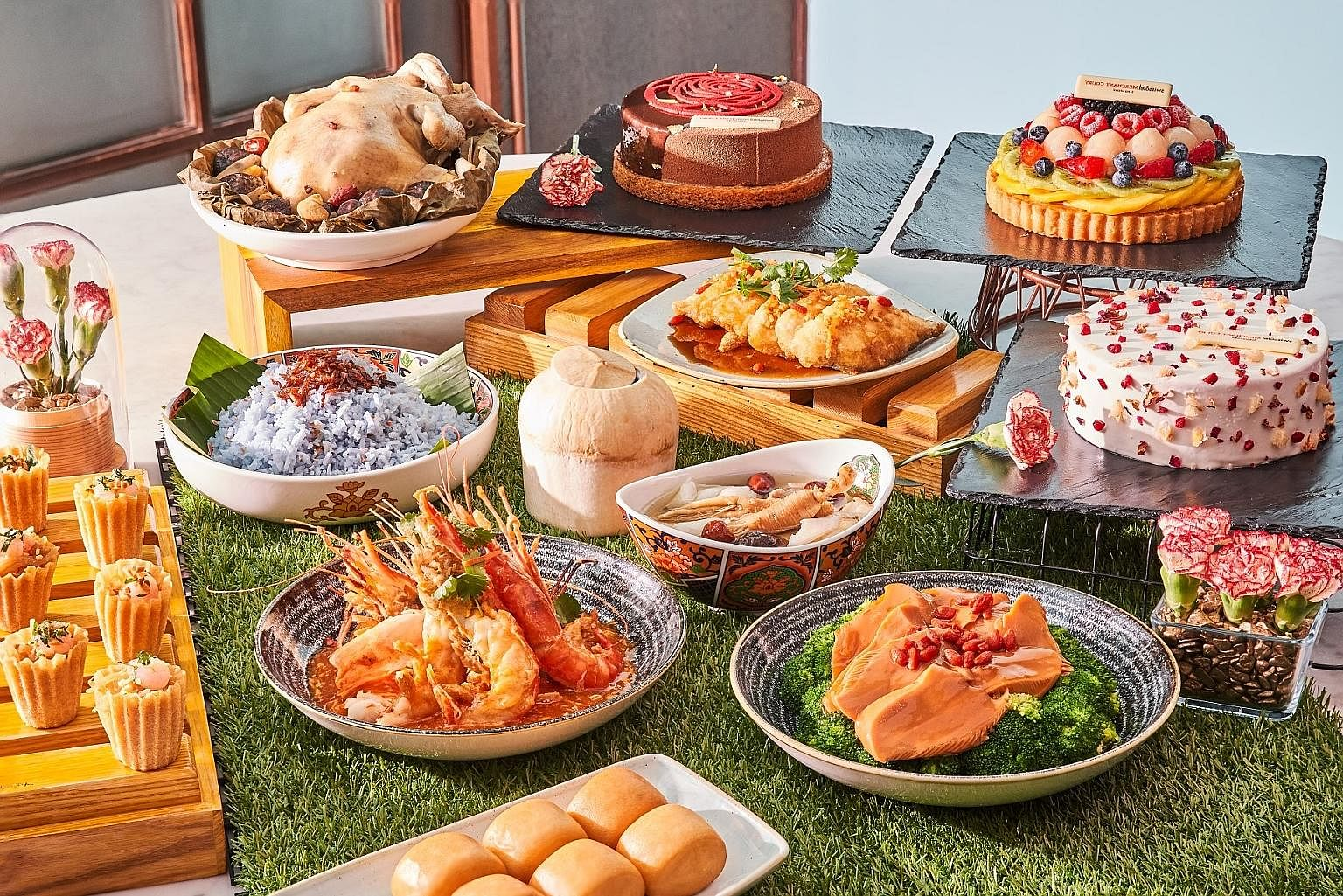 The Peranakan set meals from Ellenborough Market Cafe also come in special gourmet bundles, which can feed four or six diners. SPH subscribers can get a 20 per cent discount off these bundles.