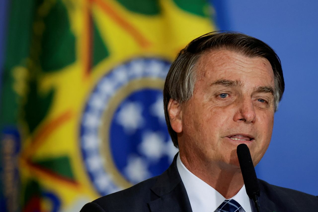 Brazil president Jair Bolsonaro barred from Santos vs Gremio game due to not being vaccinated