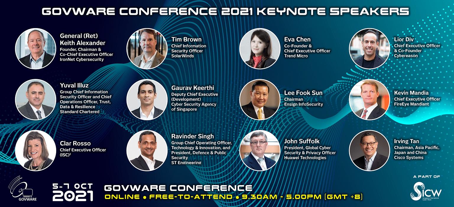 govware 2021, speakers