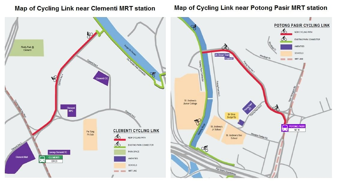 Better cycling infrastructure in 5 towns to improve network
