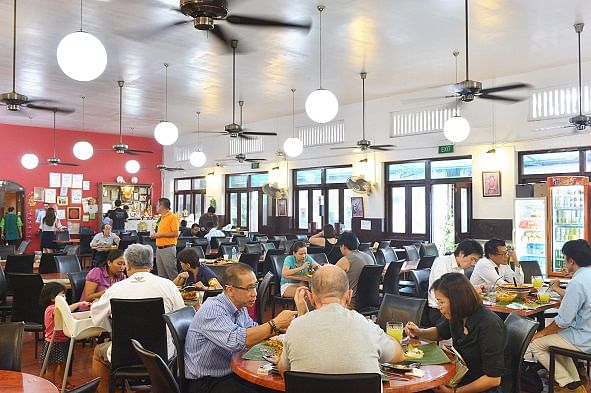 Samy's Curry has been in various locations but it is now firmly established in Dempsey.
