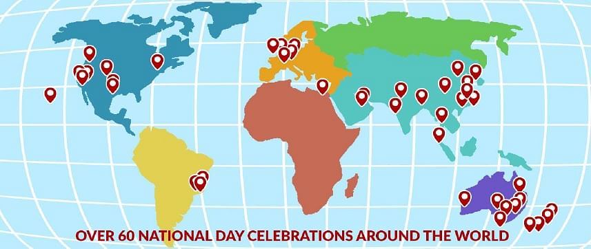 More than 60 jubilee celebrations worldwide for ...
