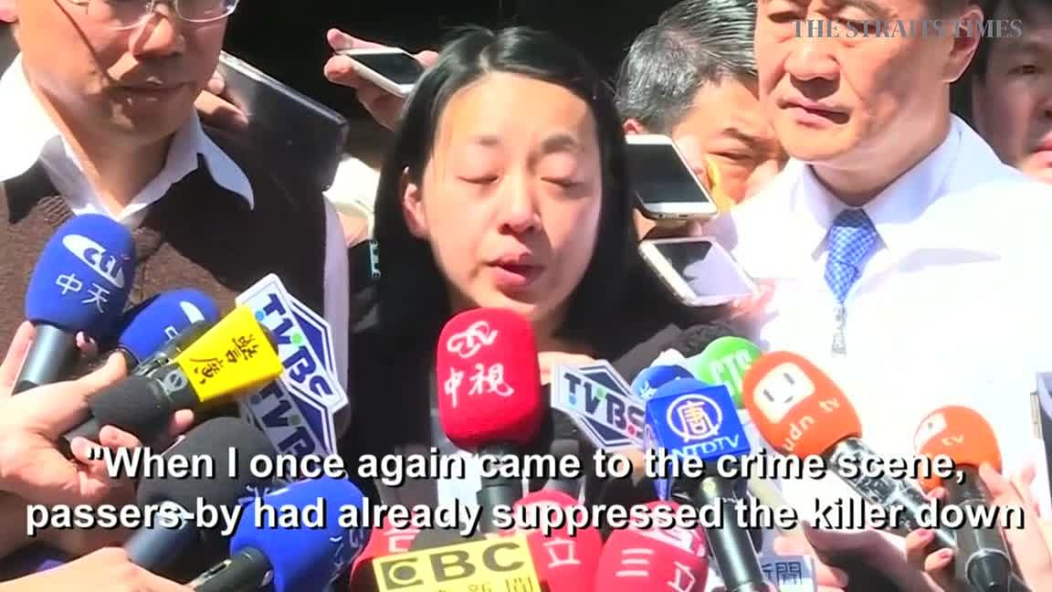 Taiwan beheading suspect beaten by angry mob, East Asia News & Top