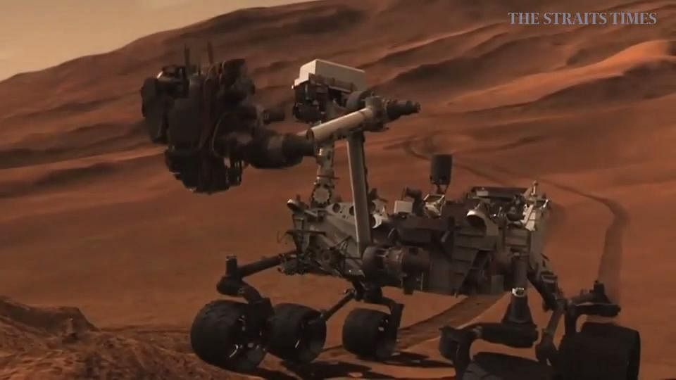 mars rover discovers - photo #42