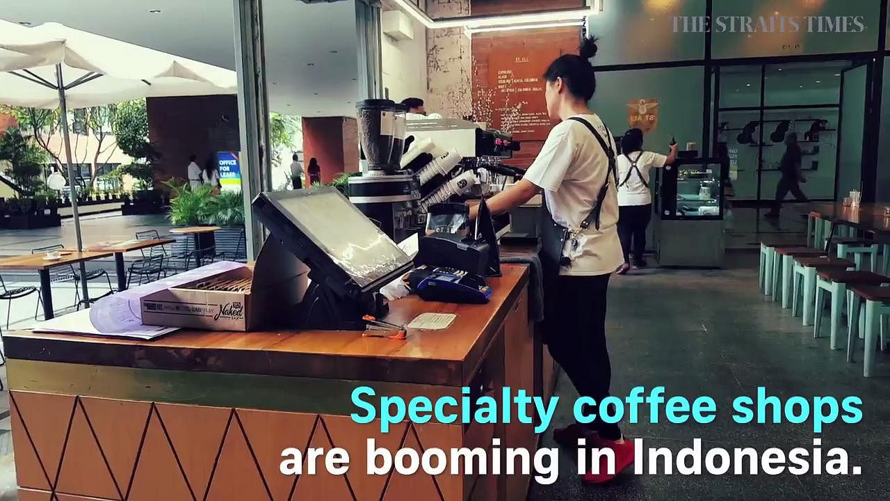 Coffee lovers fuel surge in speciality cafes in Indonesia, SE Asia News & Top Stories - The Straits Times