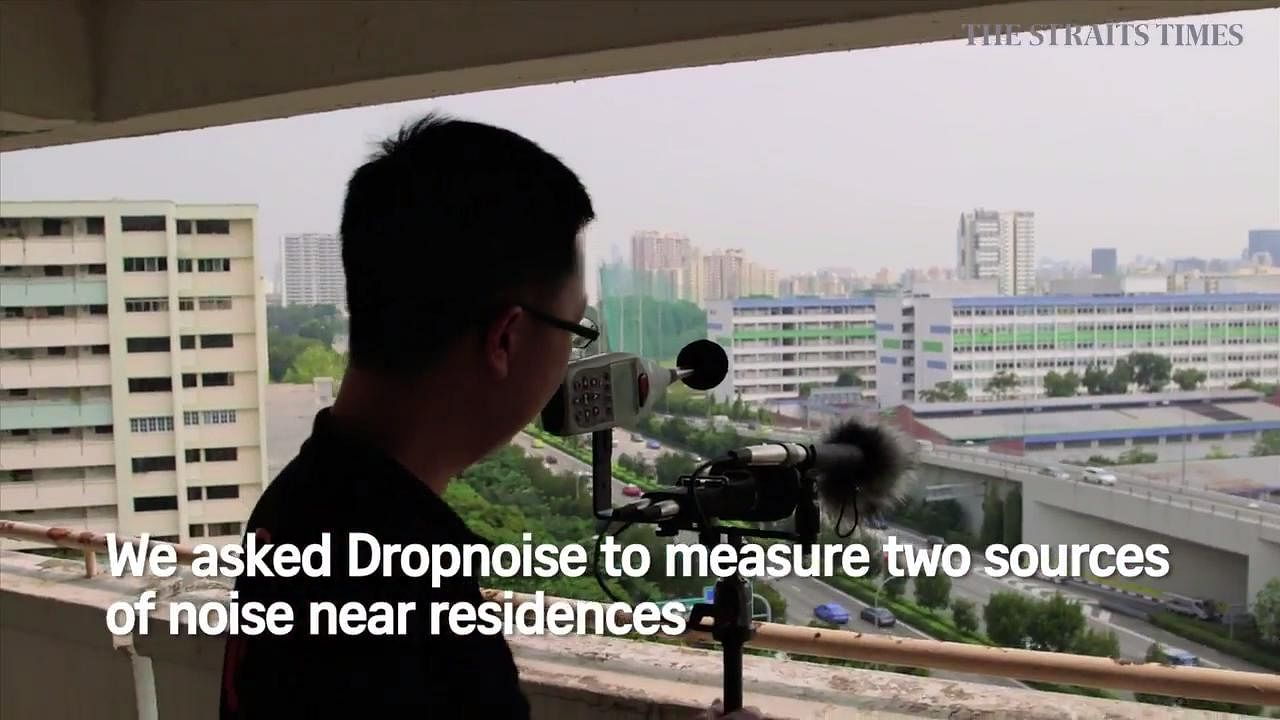Living with noise pollution: Serangoon, Bukit Timah and