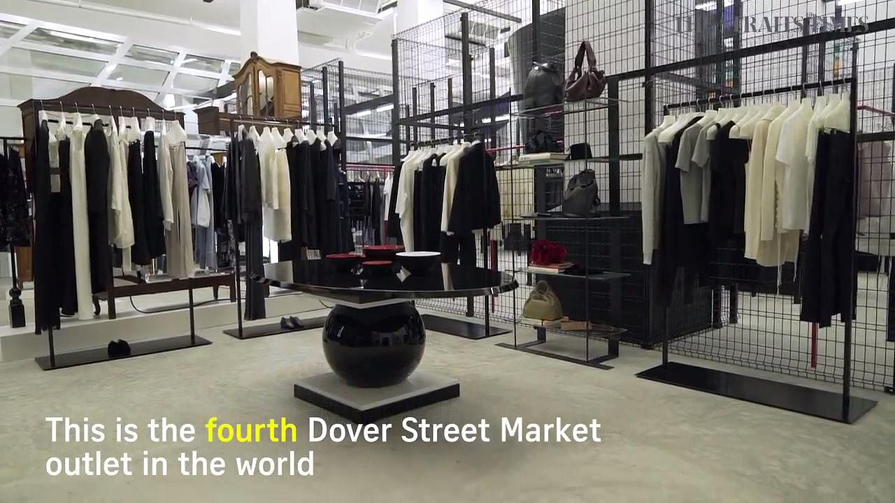 Dover street market store new york city retail design blog - Dover Street Market Singapore Opens On Saturday With Fresh Spin On Retail Lifestyle News Top Stories The Straits Times