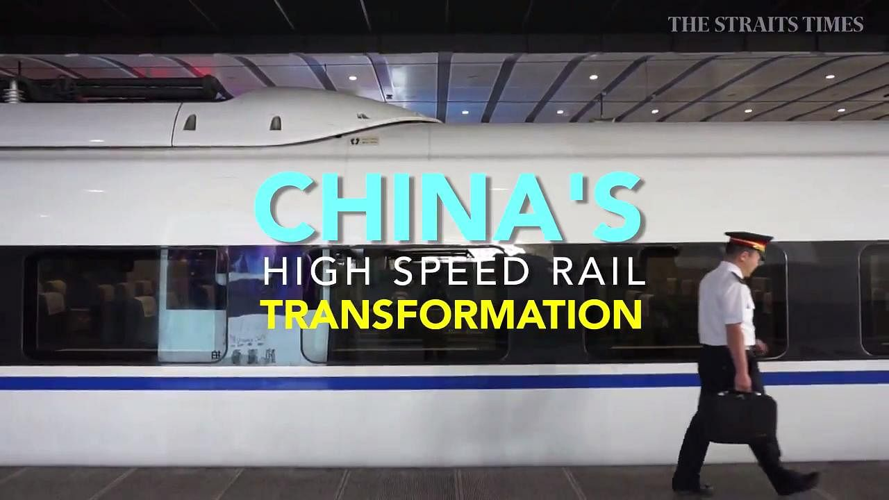 China's rail ambitions run at full speed, Asia News & Top ...