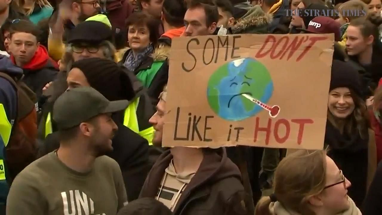Urgent action on climate change urged at UN talks, Europe