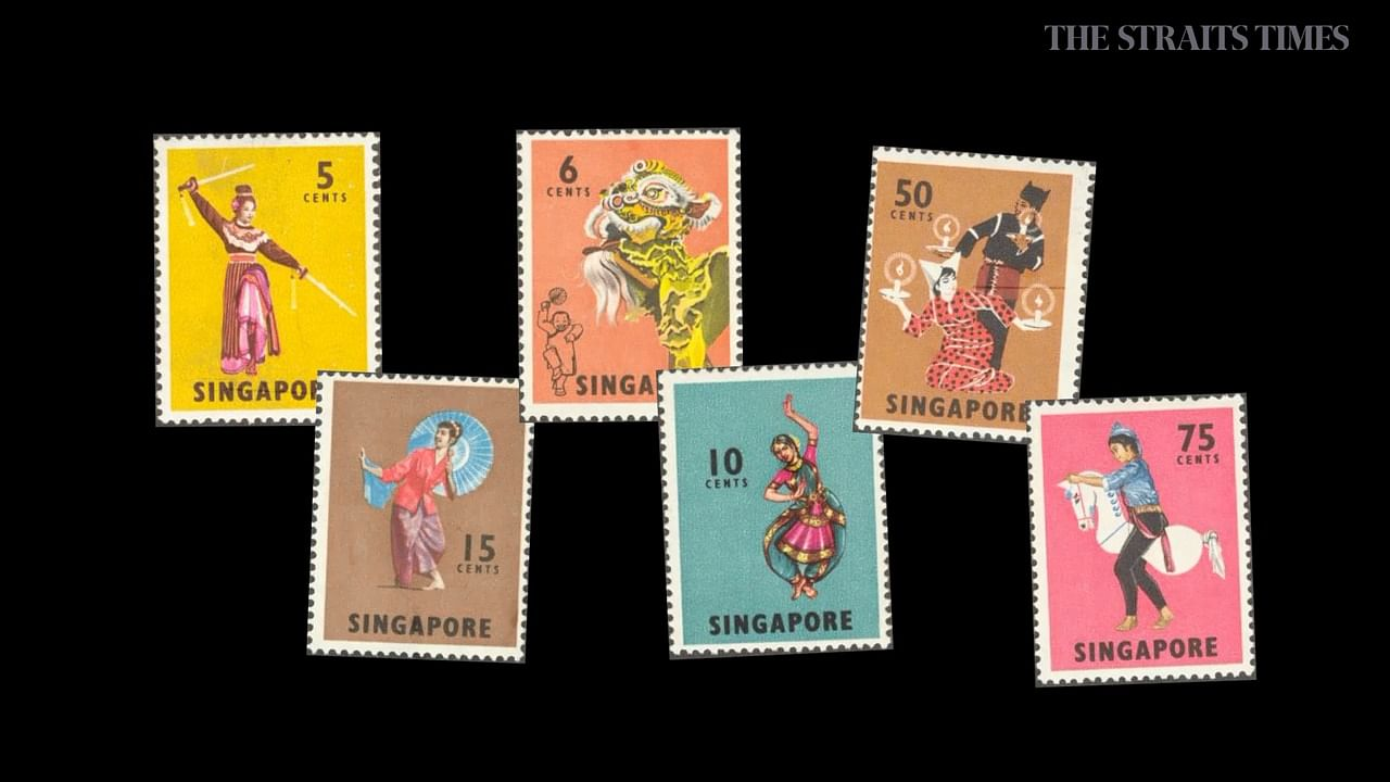 History puts its colourful stamp on Singapore