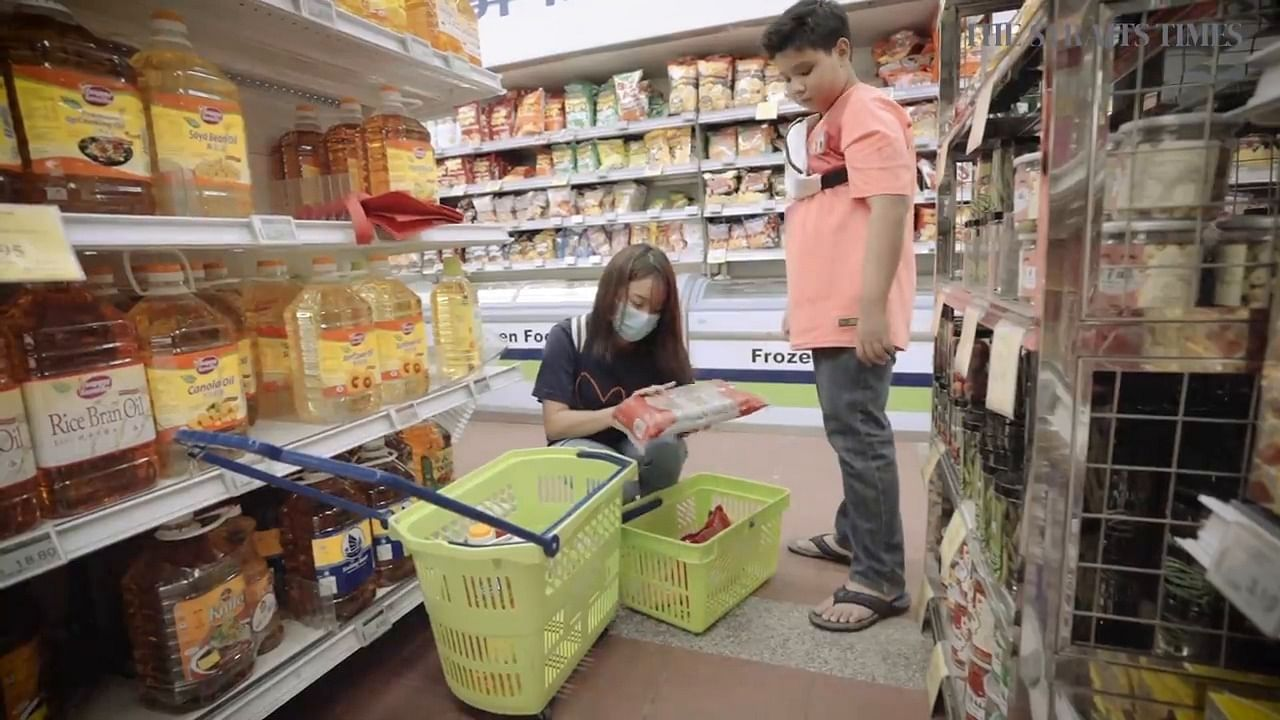 St Causes Week 2019 Grocery Shopping Trips Teach Kids About Nutrition Budgeting Singapore News Top Stories The Straits Times
