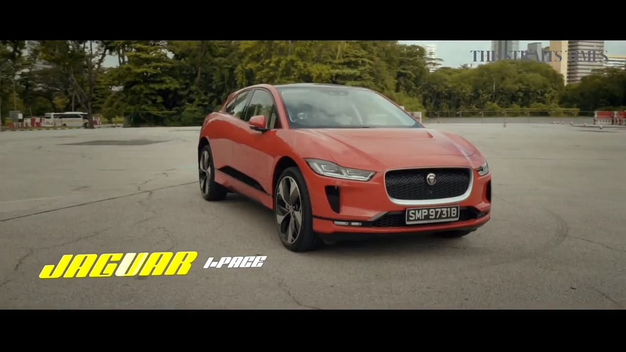 The Jaguar I-Pace electrifies as The Straits Times Car of the Year 2019