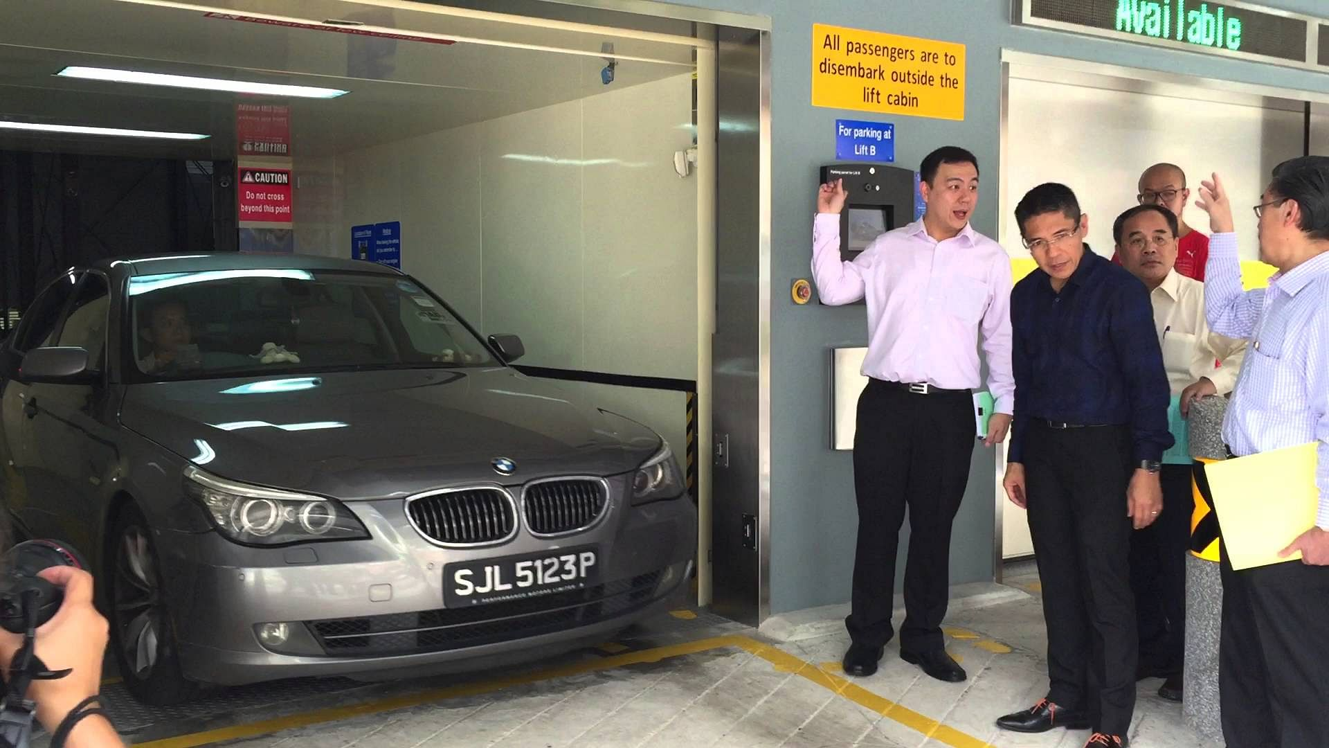 Mechanised Carpark Comes Online At Changi Village But Expect