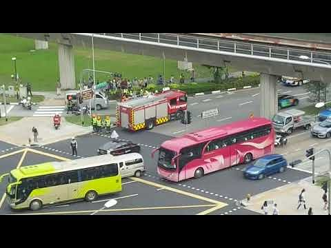 Female cyclist badly injured after accident with van on Boon Lay Way