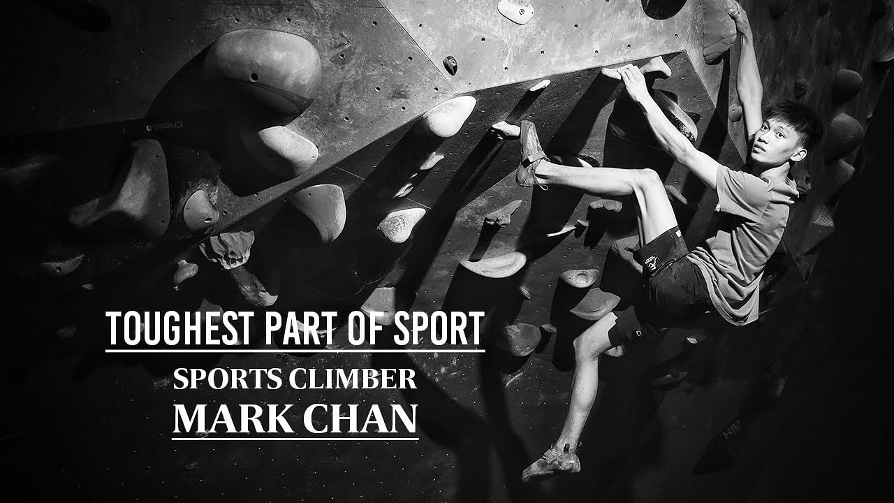 Even without a coach, sport climber Mark Chan undaunted by scale of challenge