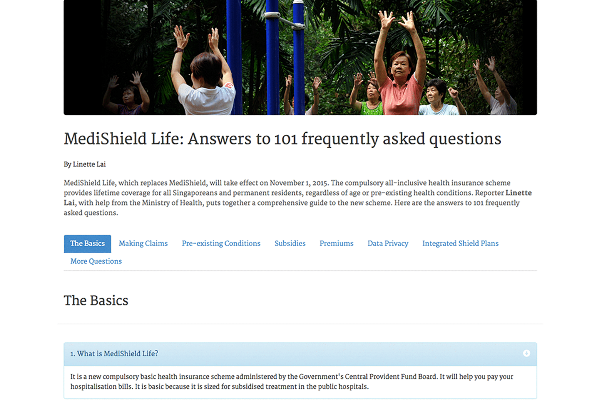 Answers to 101 frequently asked questions