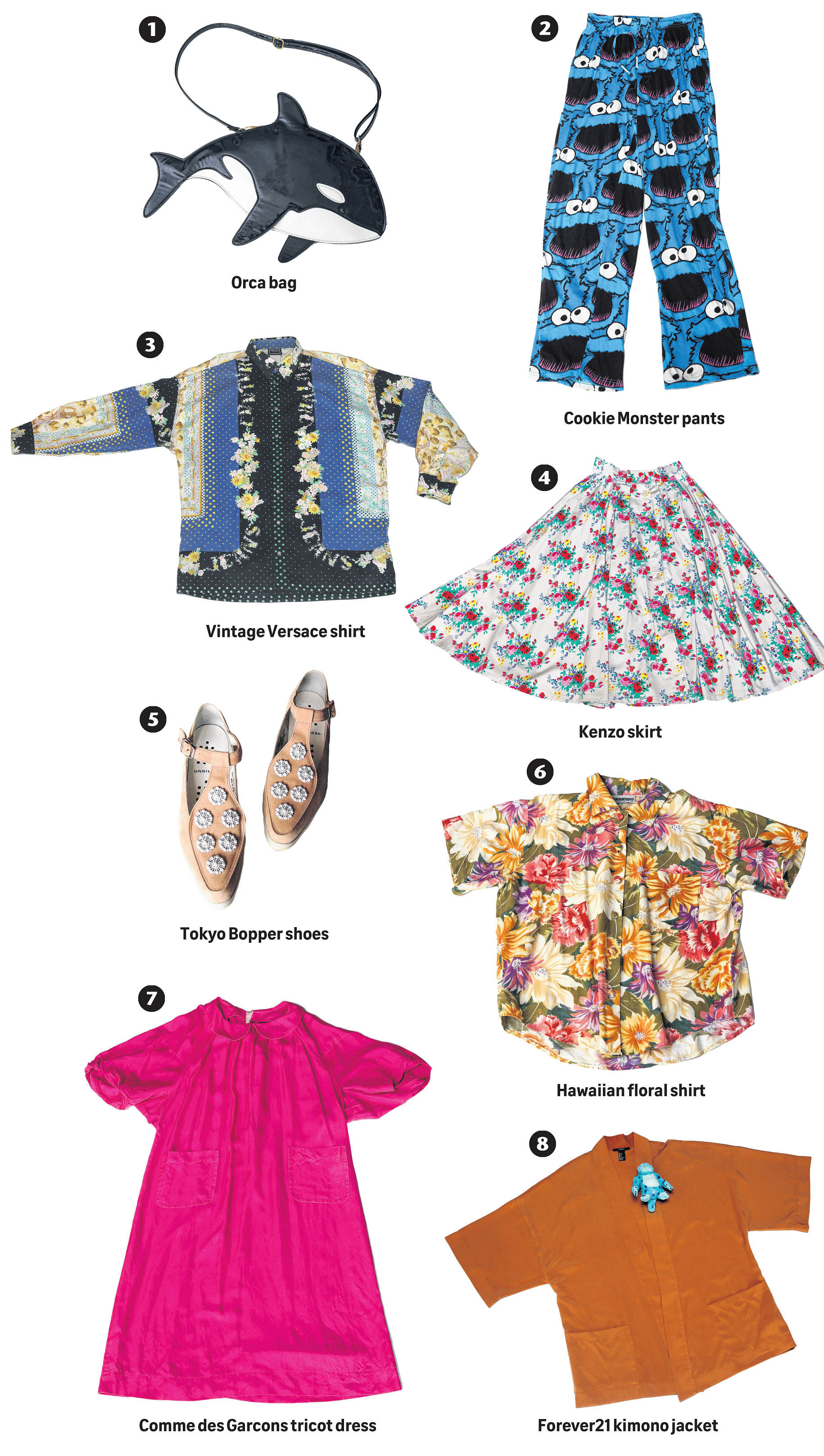 b63afca143b6 I take inspiration from Harajuku streetwear and mix it with vintage  clothing.
