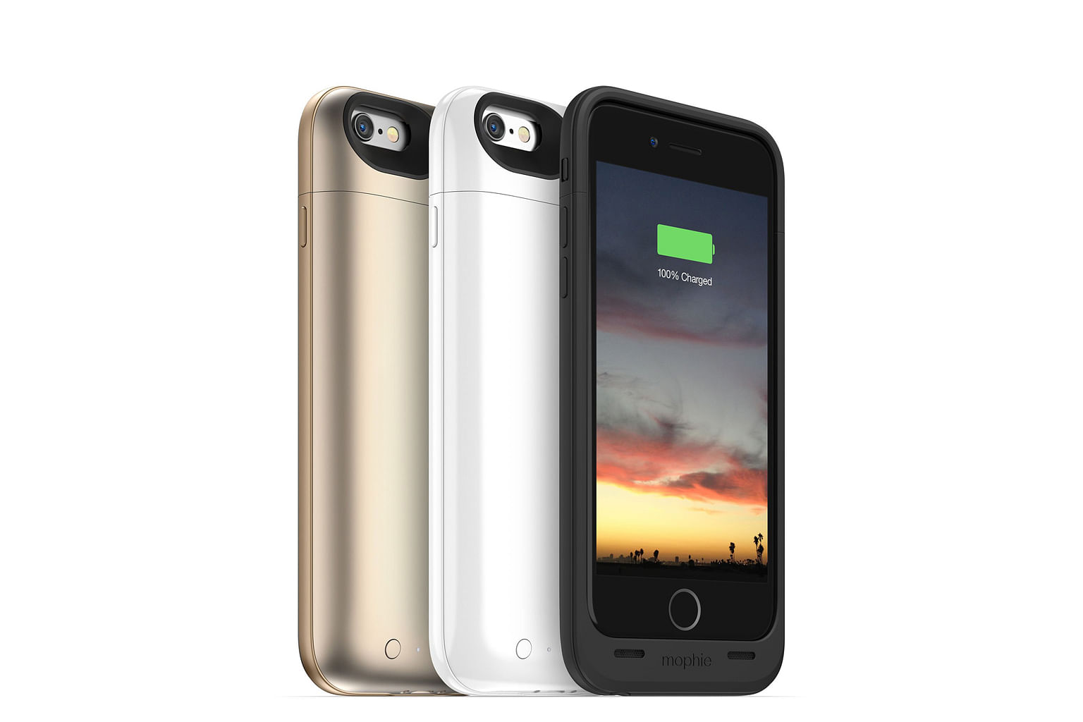 Of the four cases, the Mophie Juice Pack for iPhone 6 Plus is the thinnest and lightest. It is only 14.5mm thick and weighs 111g. You can leave the iPhone in the case when syncing it with a computer.