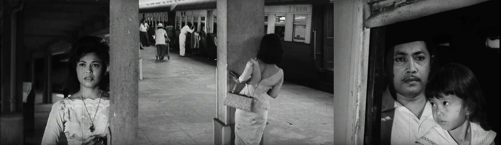A scene from Chinta Kaseh Sayang (1965), one of the films featured on a tour of filming locations in Singapore.