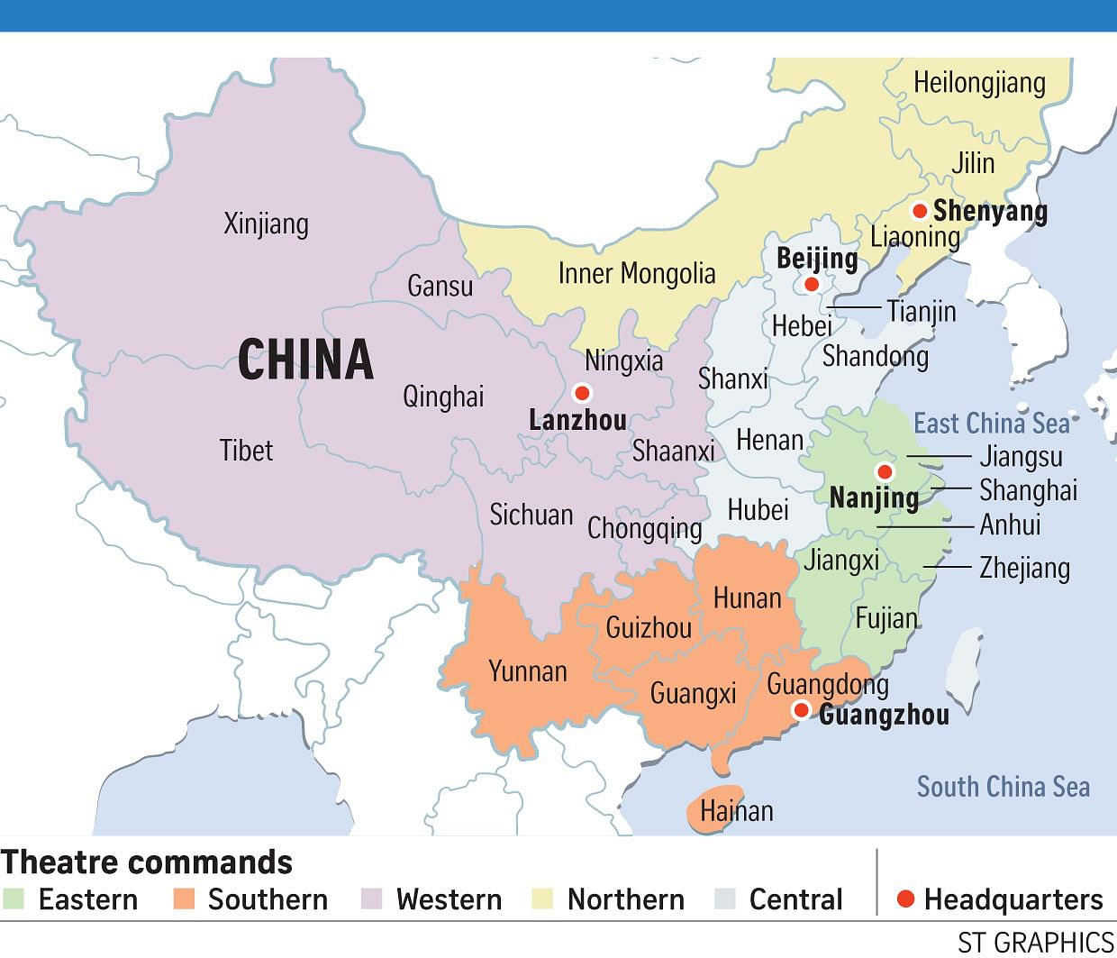 Image result for chinese military commands