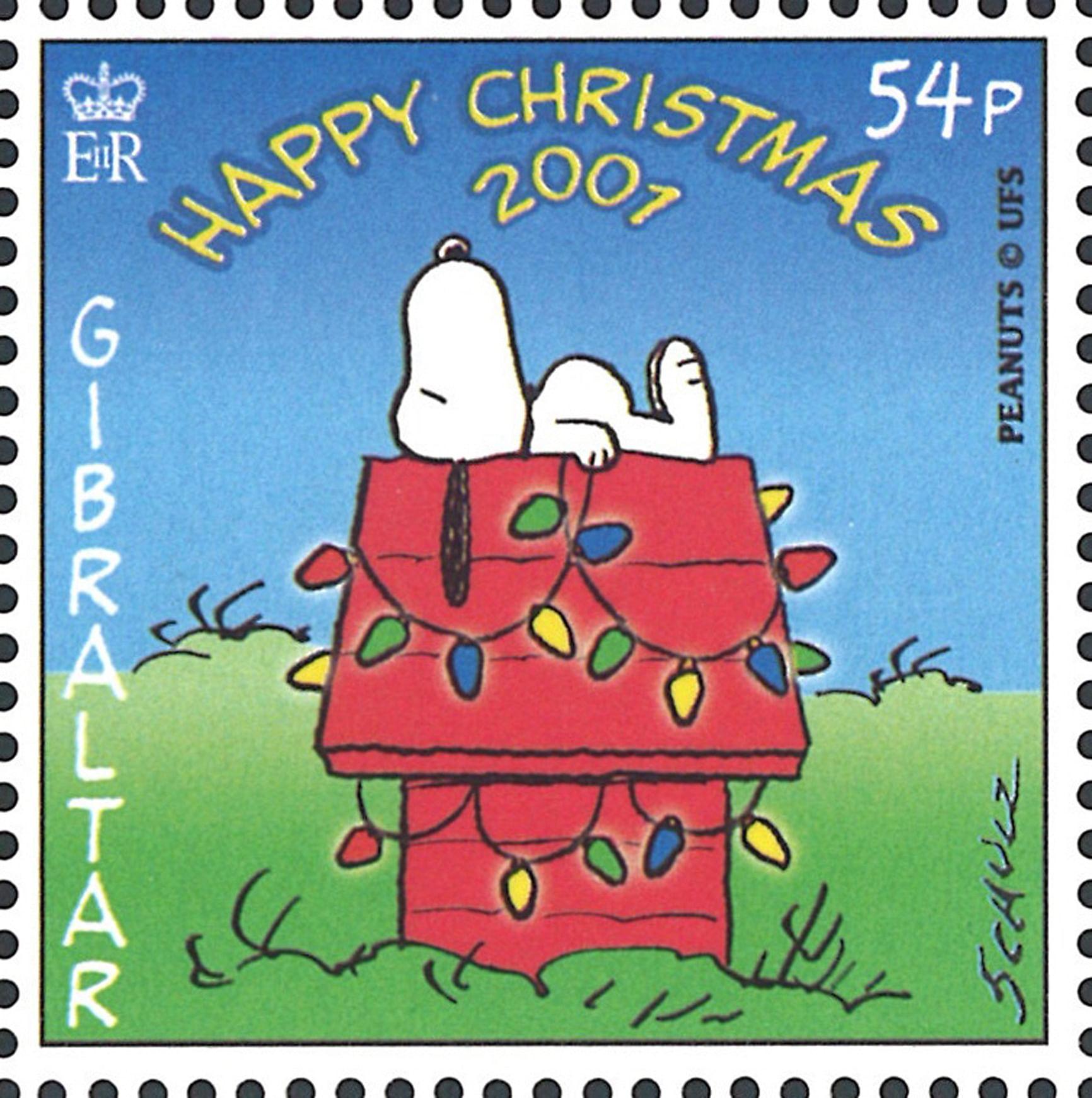 Christmas 2001 Peanuts Snoopy Nov 12