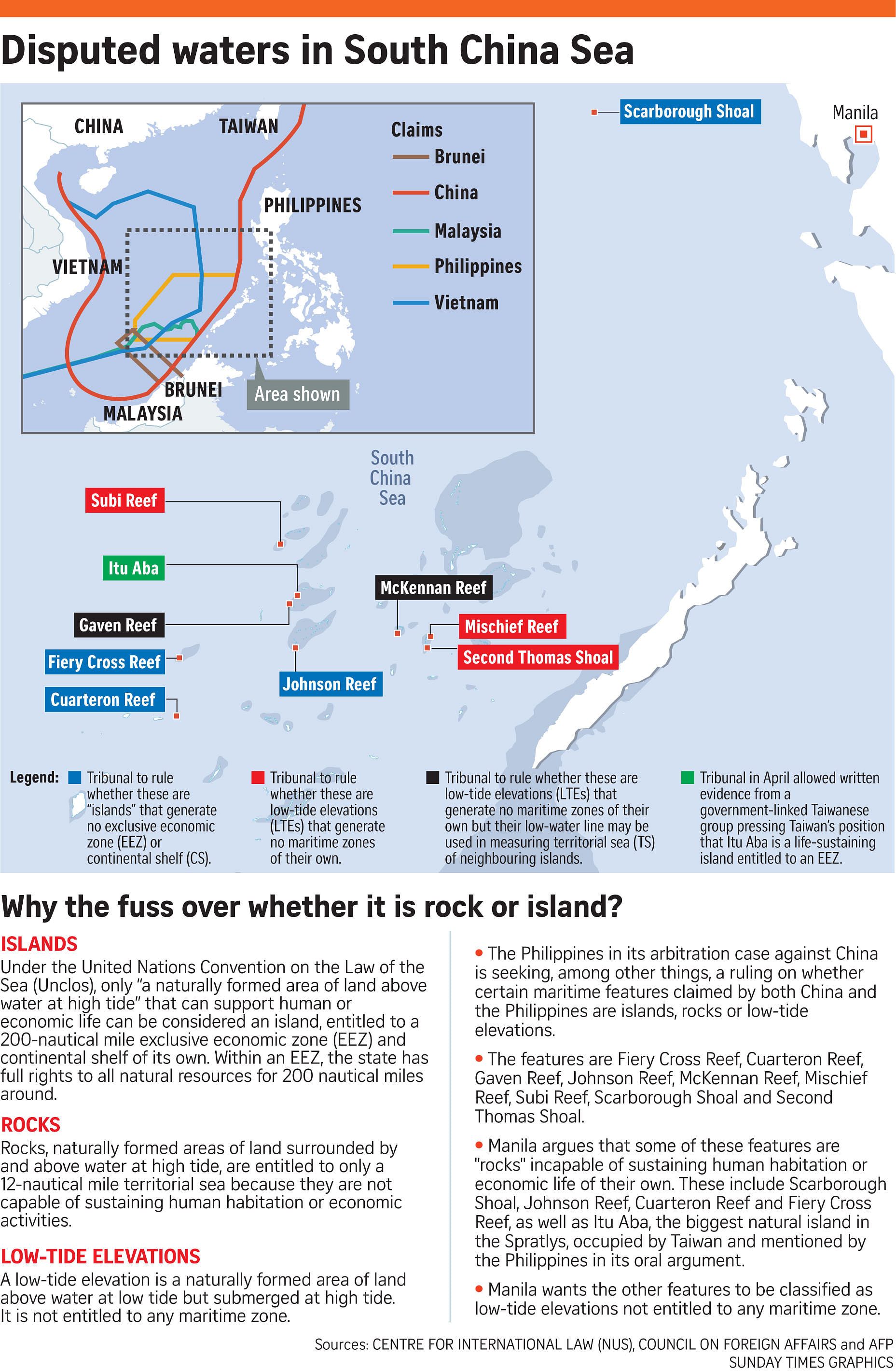 exclusive economic zone and south china The philippines on friday identified two areas in south china sea where joint exploration for oil and gas may be undertaken with china, including one in territory that both sides have argued over.