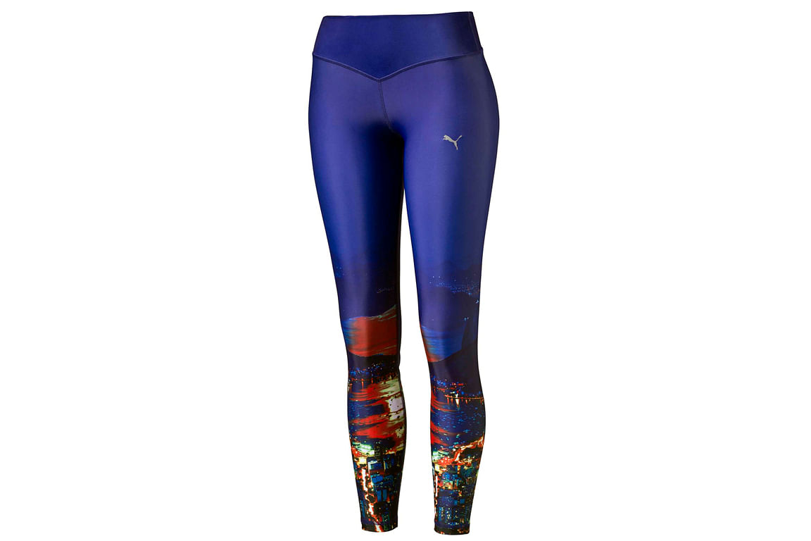 43541e58eec4c 9 Blue tights with night city scape print (above) from Puma Goldpack, $89,  from Puma