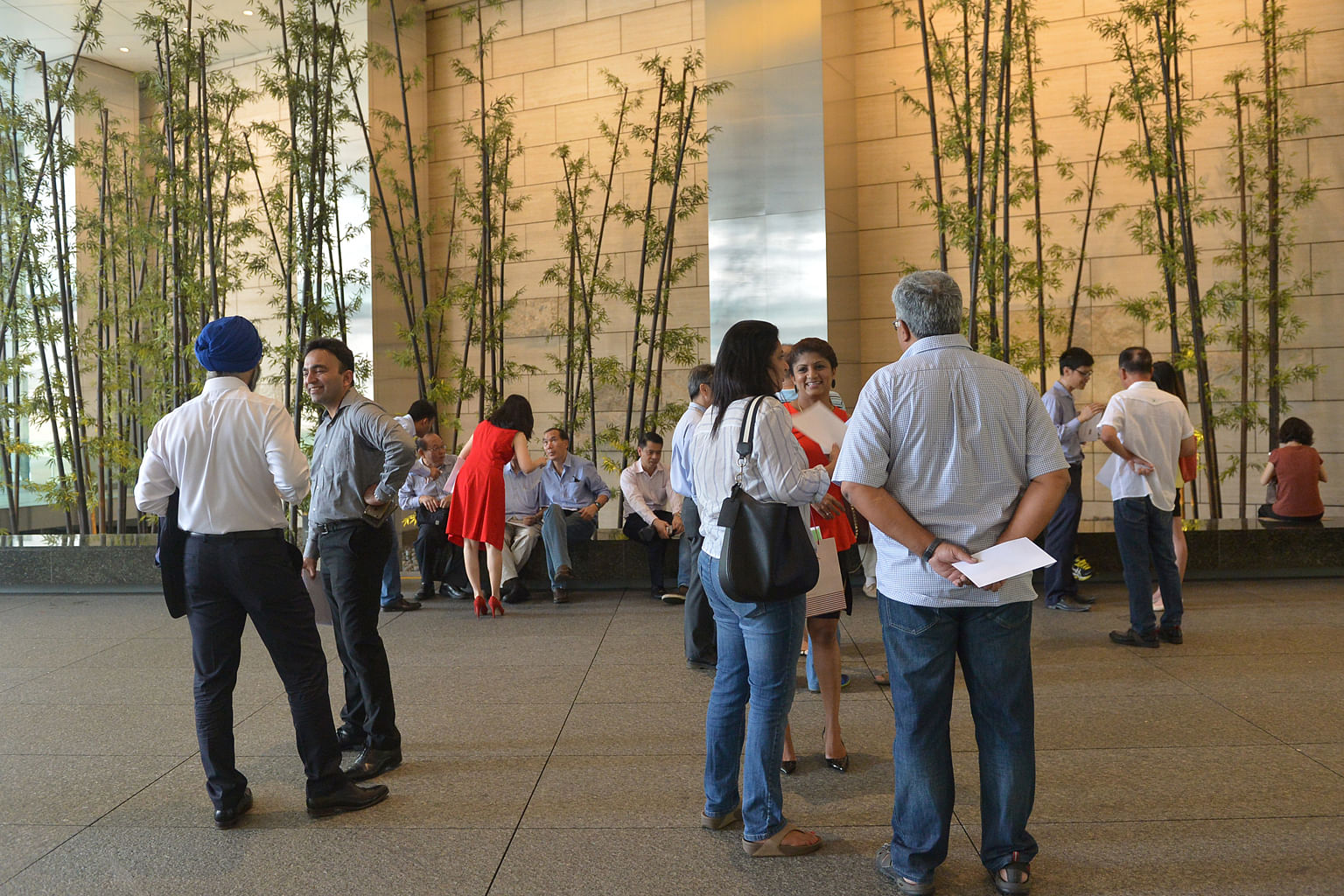 Some Rickmers bondholders were at One Raffles Quay last Wednesday to file an acceleration notice with the trustee to seek immediate redemption of their notes.